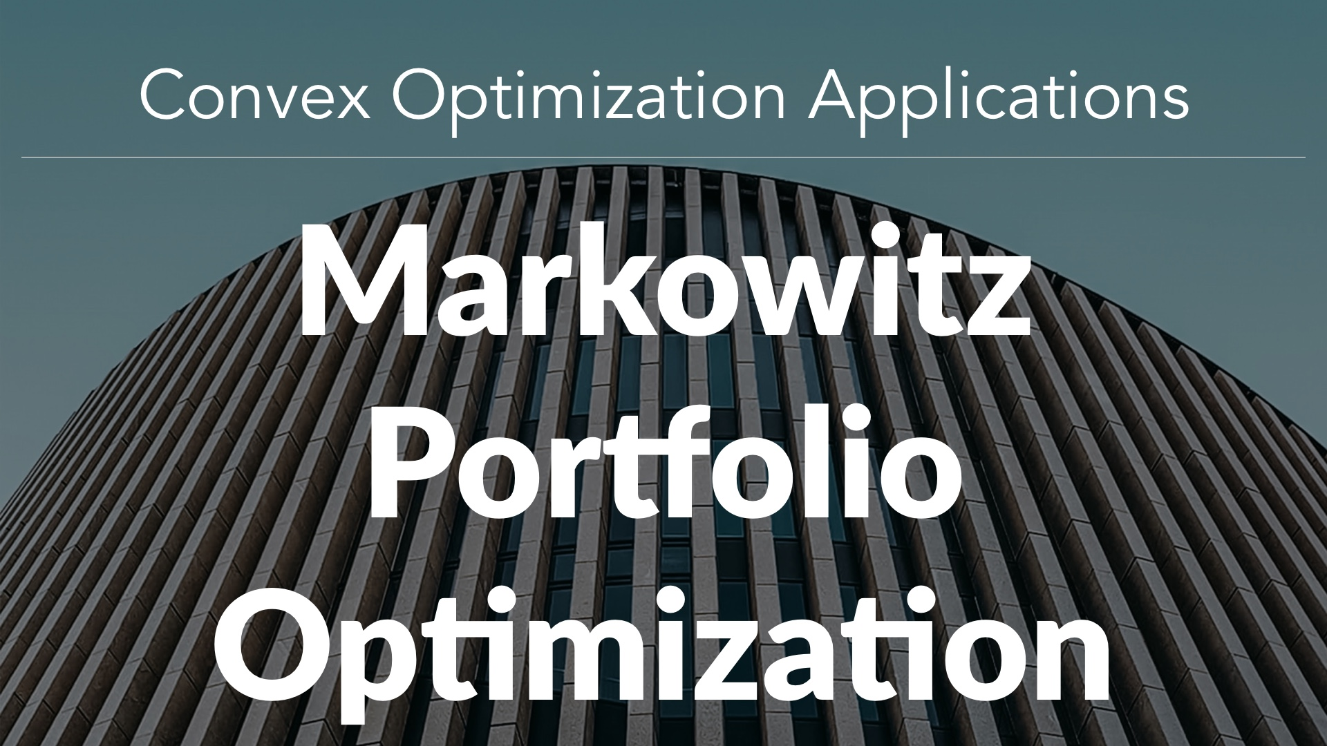 Markowitz Portfolio Optimization in Stock Market Analysis